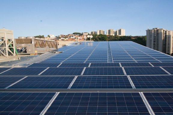 Solar Panels Vepica Caracas Office