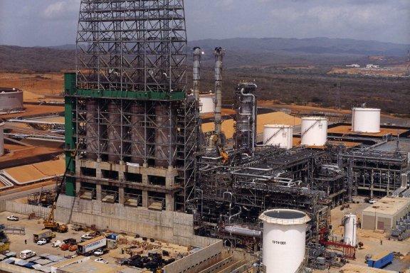 Cerro Negro extra heavy crude upgrader